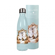Wrendale 'Contentment' Foxes Water Bottle