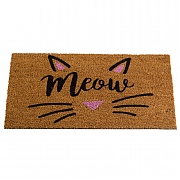 Cat's Whiskers Coir Mat - 75 x 45cm