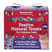 Rosewood Festive Natural Treats Gift For Cats 100g