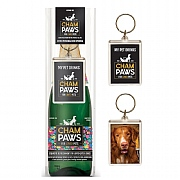 Champaws Gift Pack With Key Ring for Dogs