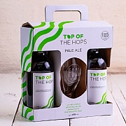 Top of the Hops 2 Bottles & Glass Gift Pack