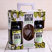 Food at Webbs Wych's Brew 2 Bottles & Glass Gift Pack