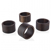 Artisan Street Set of 4 Napkin Rings