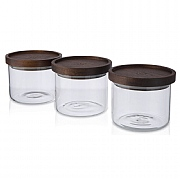 Artisan Street Set of 3 Stacking Jars 600ml
