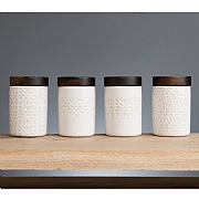 Artisan Street Set of 4 Storage Jars 1200ml