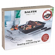 Salter 7 Piece Roaster & Carving Set