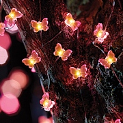 Smart Solar Butterfly Firefly String Lights Solar - (x30)