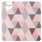 Pack of 2 Geo Pink & Grey Placemats