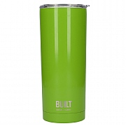 Built 590ml Double Walled Stainless Steel Travel Mug - Green