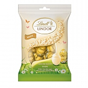 Lindt Lindor White Mini Eggs Bag (100g)