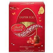 Lindt Lindor Milk Chocolate Shell Easter Egg (140g)