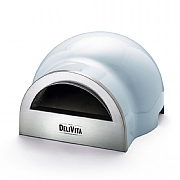 DeliVita Outdoor Wood Fired Oven Vintage Blue