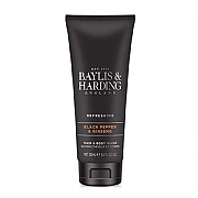Baylis & Harding Signature Black Pepper & Ginseng Hair & Body Wash 250ml