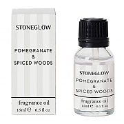 Stoneglow Modern Classics Pomegranate & Spiced Woods Fragrance Oil 15ml