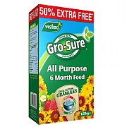 Westland Gro-Sure 6 Month Slow Release Plant Food 1.1kg + 50% Extra Free