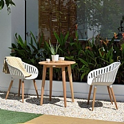 Lifestyle Garden Nassau Bistro Set Cream