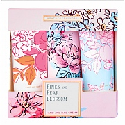 Pink & Pear Blossom Hand Cream 3x30ml