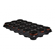 Plantpak Growing Tray with 18 Round Pots