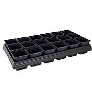Plantpak Growing Tray with 18 Square Pots