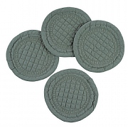 Mary Berry Signature Set of 4 Sea Green Cotton Coaster