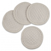 Mary Berry Signature Set of 4 Ivory Cotton Coasters