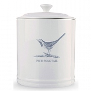 Mary Berry Pied Wagtail Tea Canister