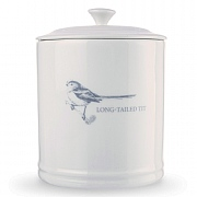 Mary Berry Long Tailed Tit Coffee Canister
