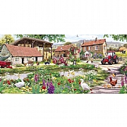 Gibsons Duckling Farm 636 Piece Jigsaw Puzzle