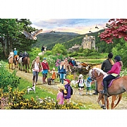 Gibsons Highland Hike 1000 Piece Jigsaw Puzzle