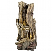 Kaemingk Log Waterfall Feature 103cm