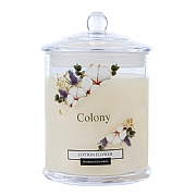 Wax Lyrical Colony Cotton Flower Jar Candle Large