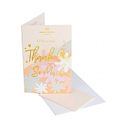 Wax Lyrical Giftscents 'Thank You So Much' Scented Greetings Card