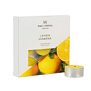 Wax Lyrical Made In England Lemon Verbena Set of 9 Tealights