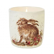Wrendale Hedgerow Ceramic Jar with Candle