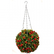 Smart Garden Topiary Red Rose Ball - 30cm