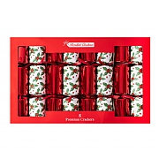 Premium Holly Crackers (Pack of 8)