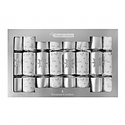 Premium Silver Star Crackers (Pack of 8)