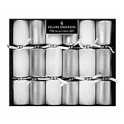 Deluxe Silver Scatter Crackers (Pack of 6)