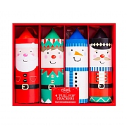 Pull Pop Character Crackers (Pack of 4)