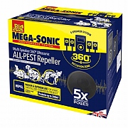 The Big Cheese Ultra Power Mega Sonic All-Pest Repeller