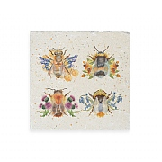 Kate of Kensington Bees Medium Marble Platter