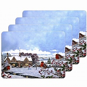 Macneil Set of 4 Robins Table Mats