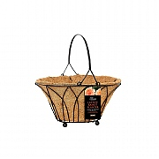 Tom Chambers Lattice 25cm Basket Planter with WaterSave Liner
