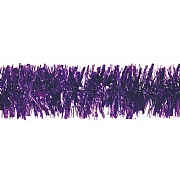 Festive Purple Chunky Tinsel - 2m
