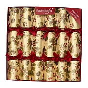 "Robin Reed Berry Garland 12"" Christmas Crackers (Pack of 6)"