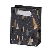 Glick Charcoal Trees Small Gift Bag
