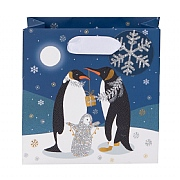 Glick Pizazz Penguins Small Gift Bag