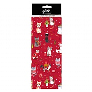 Glick Paper Salad Christmas Kittens Tissue Paper