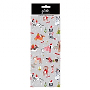 Glick Paper Salad Christmas Puppies Tissue Paper