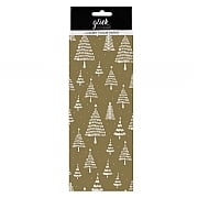 Glick Gold Trees Tissue Paper